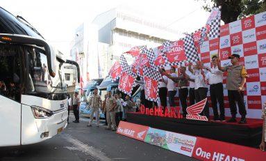 AHM Honda Berangkatkan Ribuan Pemudik ke Kampung Halaman