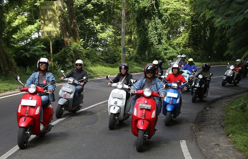 Piaggio Meriahkan Bali Mods Mayday 2019