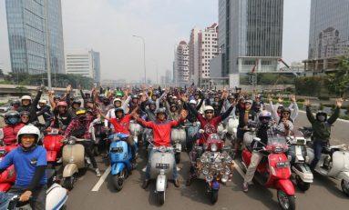 Indonesia Vespa Days 2019 Dihadiri Ratusan Bikers