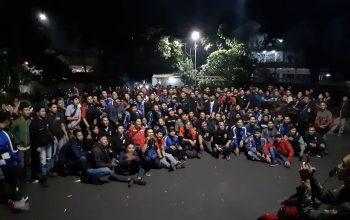 Bukber dan Sahur Bareng Suzuki Satria F150 Club (SSFC) Diselingi Baksos