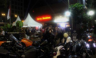 Gelar BBQ Night Ride, HOG Anak Elang Satukan Komunitas Moge