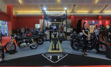 Triumph Naikkan Target Penjualan di IIMS 2019