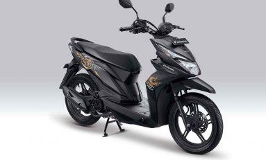 New Honda BeAT Street eSP Hadir Warna Baru Matte Black