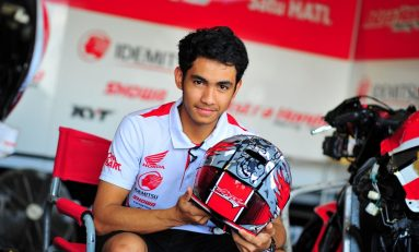 Sebelum Balap Moto2, Andi Gilang Kembali Tantang Gerry Salim di Sirkuit Ricardo Tormo