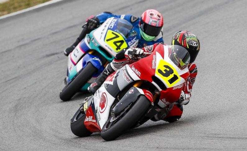 Andi Gilang dan Gerry Salim Tampil Mengejutkan di Moto2 Spanyol