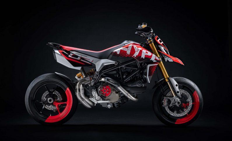 Ducati Pamer Motor Konsep Hypermotard 950, Supermoto Tulen