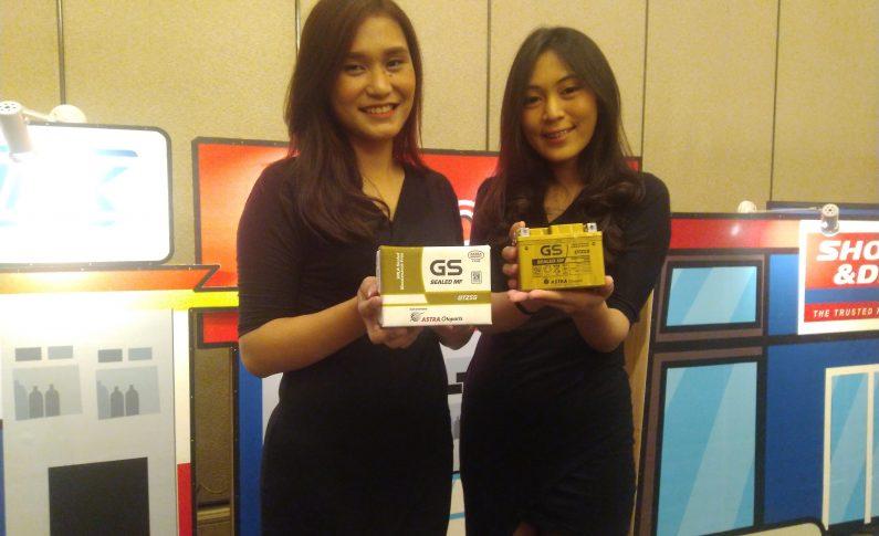 Astra Otoparts Luncurkan GS Gold, Aki 'Pintar' Untuk Roda Dua
