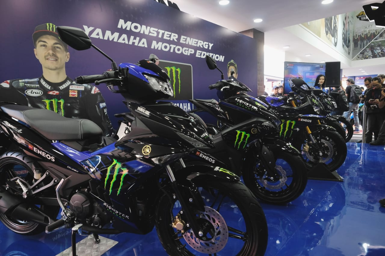 Livery Monster Energy MotoGP Jadi Andalan Baru Yamaha Indonesia