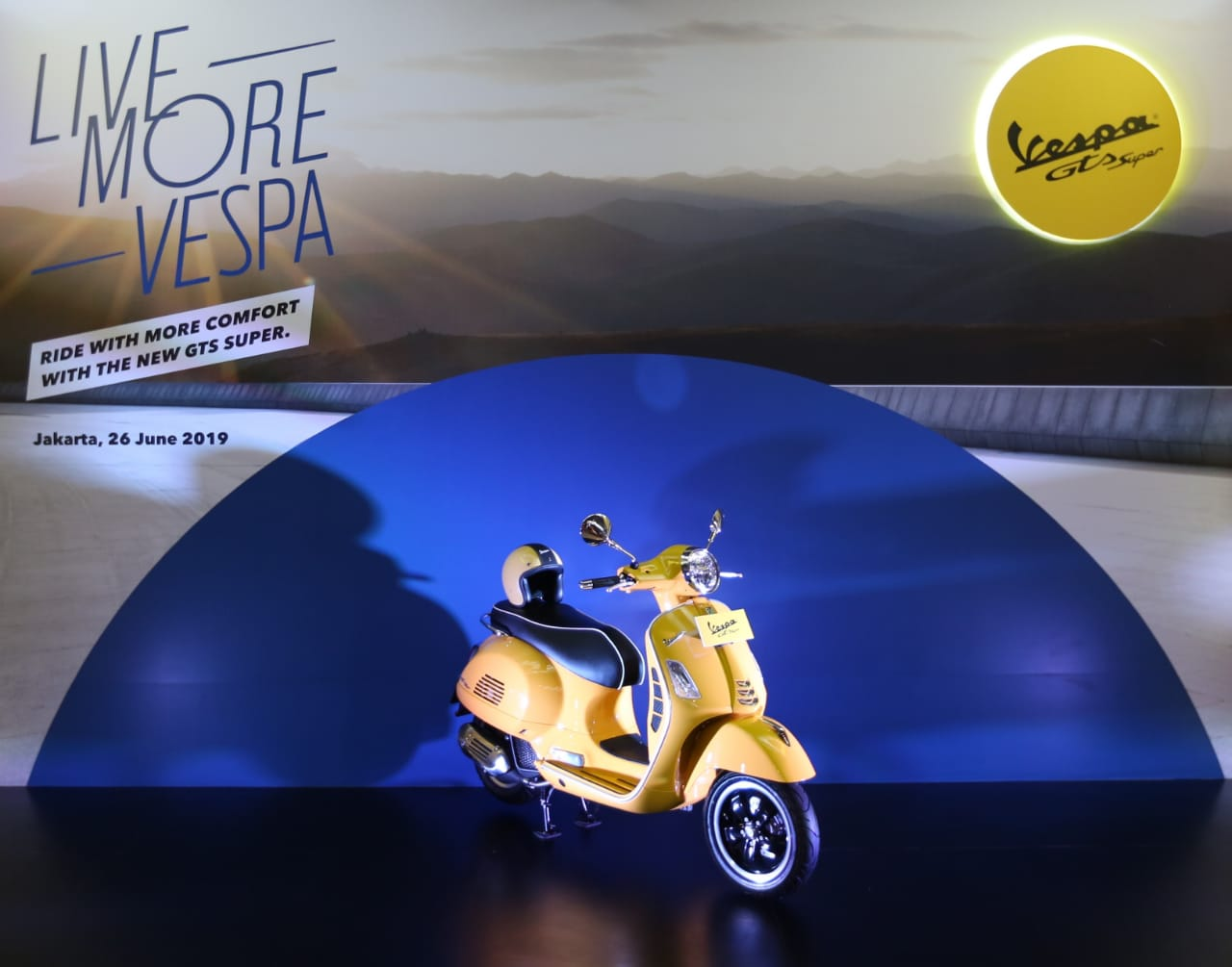 Vespa GTS 150 Super i-get ABS Resmi Meluncur, Banyak Fitur Anyar
