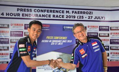 Faerozi Waikili Yamaha Indonesia di Suzuka 4 Hours 2019