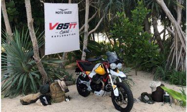 Debut Moto Guzzi V85TT di Asia Pasifik