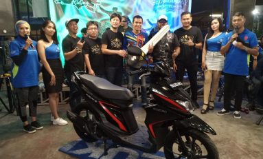 Suzuki Saturday Night Ride Pekanbaru Berhadiah Skutik Nex II