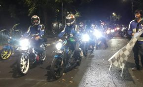Mudik Rombeng SSFC 2019, Mudiknya Bikers Suzuki Satria
