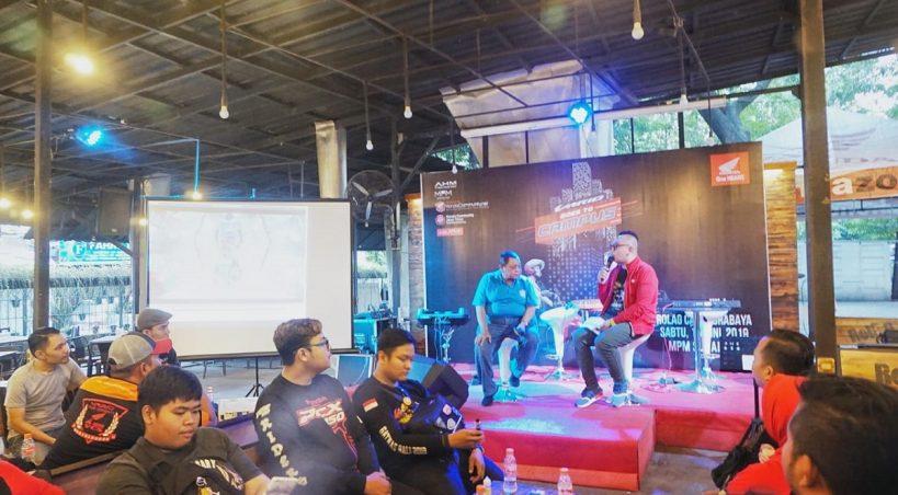 Gelar Vario Goes To Kampus, MPM Ajak Bikers Perangi Narkoba