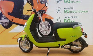 Motor Listrik ECGO 2, Solusi Hidup Irit dan Ramah Lingkungan
