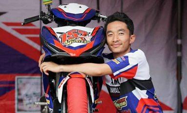 Kabar Duka, Arif Murizal Meninggal Dunia Kecelakaan di Motoprix Bangkinang, Riau