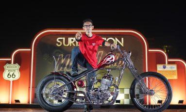 Honda XR 400 Juarai Kontes Modifikasi Suryanation Motorland Medan 2019