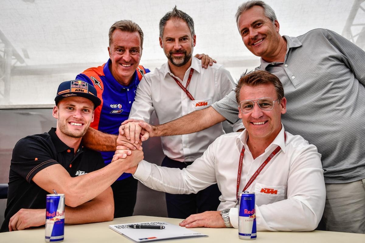 Tendang Hafizh Syahrin, KTM Tech 3 Rekrut Brad Binder