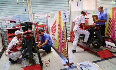 Mekanik dan Service Advisor Terbaik DAM Honda Siap Bertanding ke Tingkat Nasional