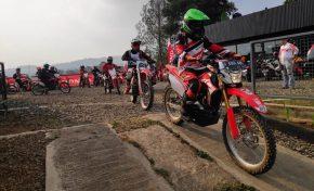 Komunitas Honda CRF150L Rasakan Sensasi Berkendara di National Honda Roadventure