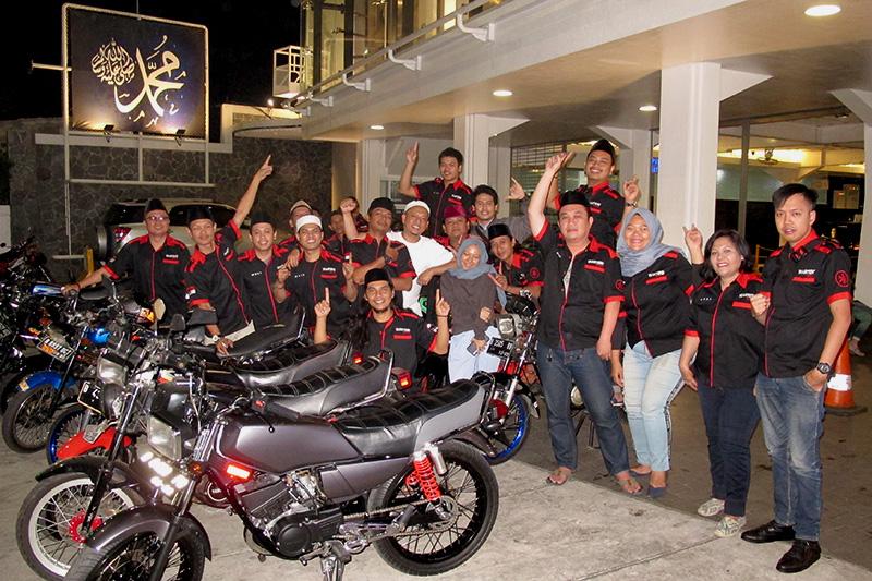 HUT ke-3 Riders King Wartend Fatmawati (RKWF) Usung Tema RX King Hijrah