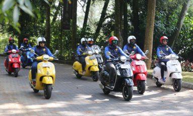 Menjajal Kenyamanan Vespa GTS Super 150 Rute Jakarta - Bogor