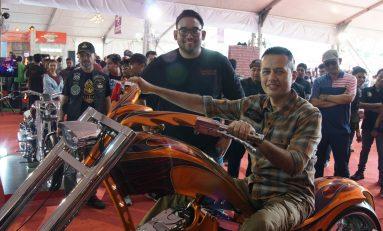 Dukung Dunia Modifikasi, Ijeck Hadiri Suryanation Motorland Medan