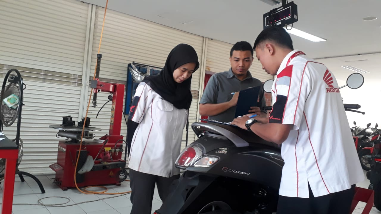 MPM Honda Jaring Teknisi dan Service Advisor Terbaik di Jawa Timur