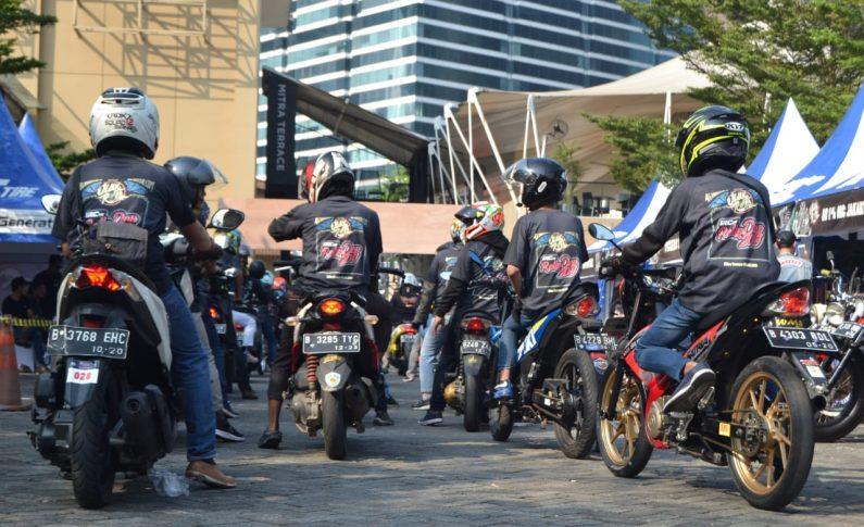 Kekompakan Bikers SSFC di Jejak Roda 2019
