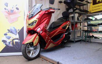 Viral Yamaha NMax Berbodi Iron Man, Hanya di Dealer Jakarta