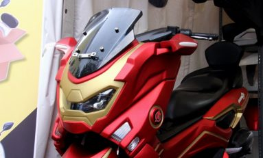 Modifikasi Yamaha NMax, Body Kit Iron Man Pilihan Terbaik