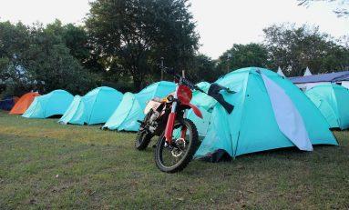 Antusias Bikers di Area Camping Ground Bukalapak Parjo 2019