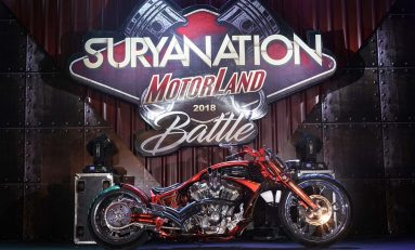 Pengerjaan Iconic Bike Suryanation Motorland 2019 dengan Konsep Baru
