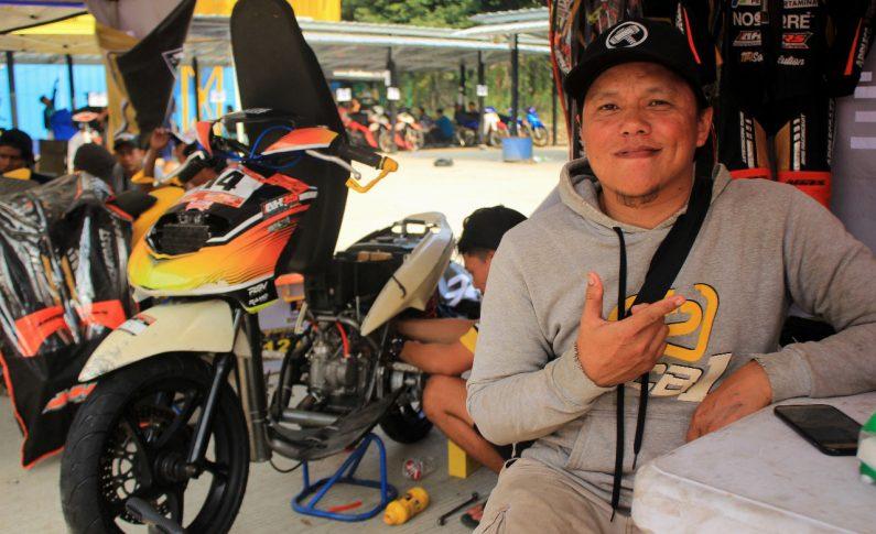 Eksis di Drag Bike, Mekanik Popo Adu Gengsi di Indoclub