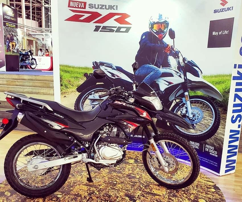 Peluncuran Motor Trail Suzuki DR150 di Indonesia