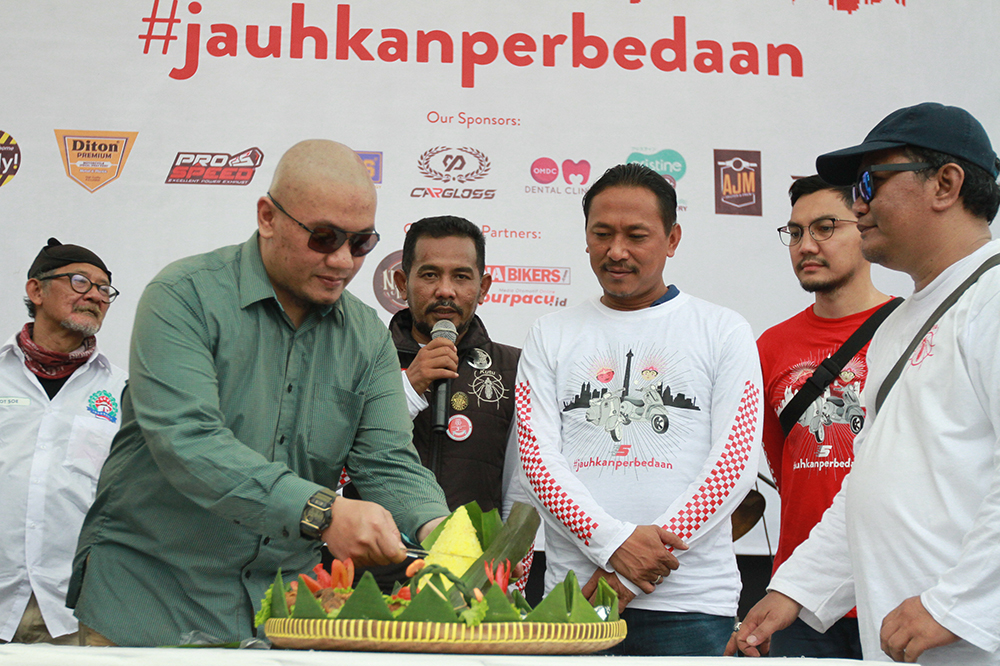 HUT ke-5 Kutu Community, Mempersatukan Bikers Pecinta Vespa di Indonesia