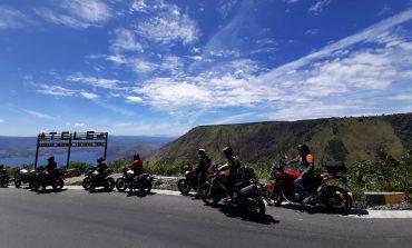 Melihat Keindahan Alam di Touring Supermoto Indonesia Merdeka Ride 2019
