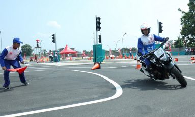 AHM Gelar Kompetisi Safety Riding Tingkat Nasional