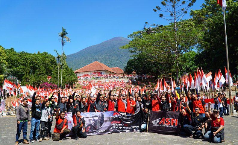 Kepedulian Para Bikers Honda Jawa Barat Untuk Para Veteran