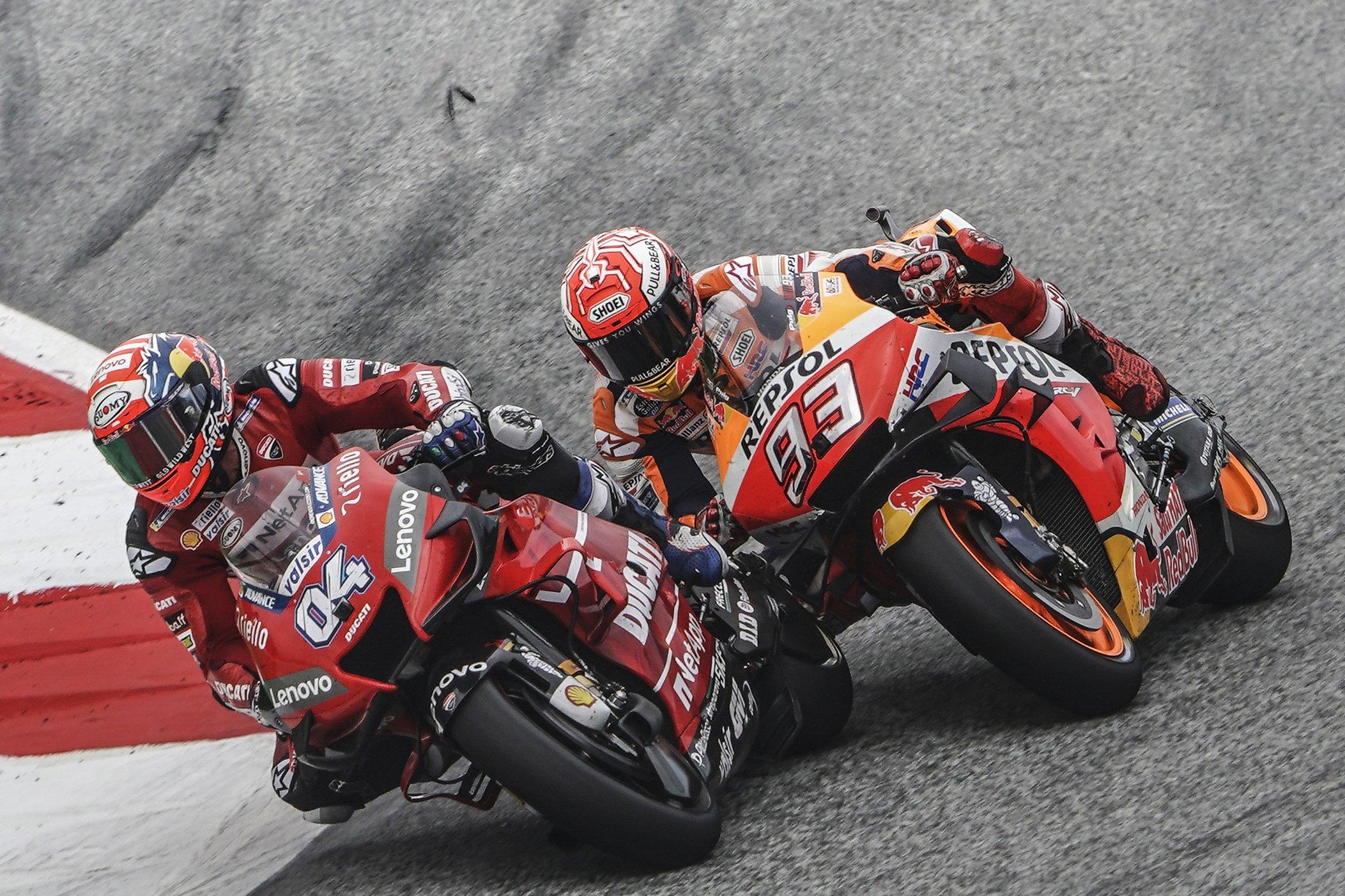 Dovizioso Tak Menyangka Bisa Asapi Marquez di Austria