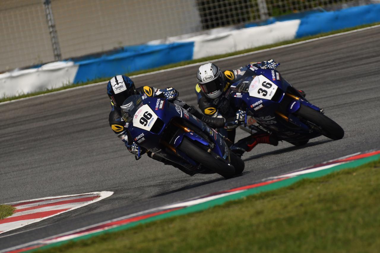 Perjuangan Sengit Pebalap Yamaha Indonesia di ARRC Cina 2019