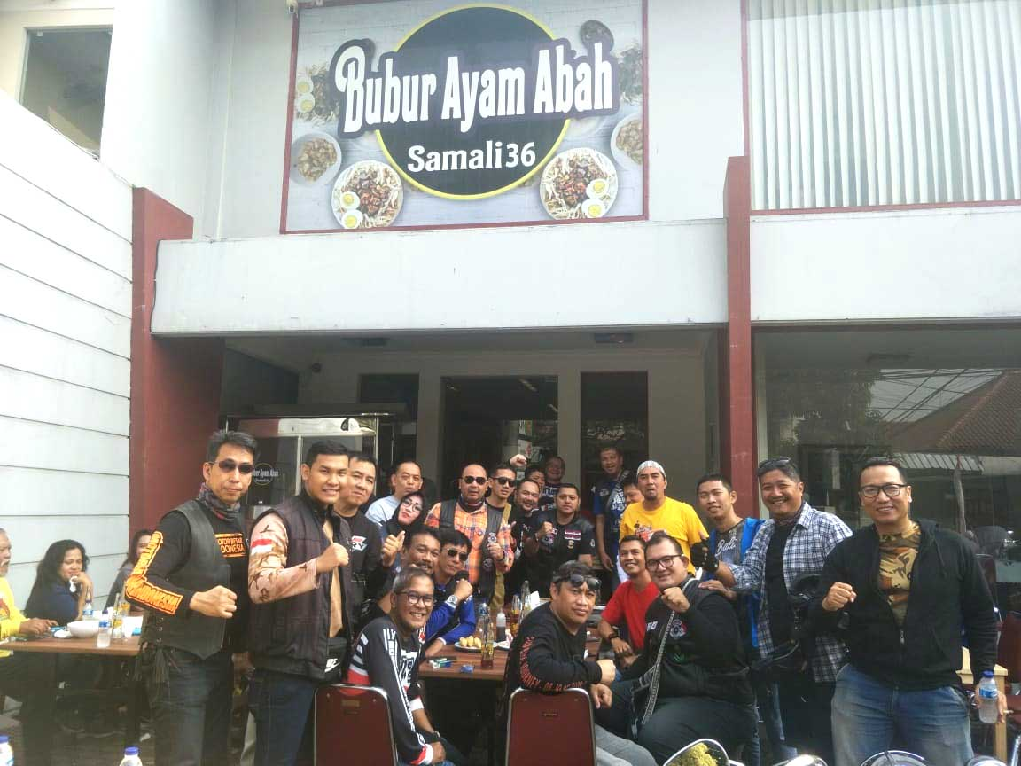 Tampil Beda, Para Biker MBI DKI Jakarta Buka Konsultasi Hukum Gratis