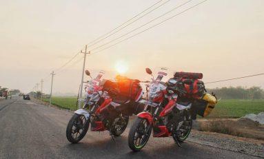 Geber Suzuki GSX150 Bandit, Dua Bikers Touring ke Timor Leste Sejauh 6.000 KM