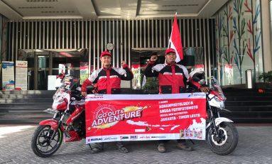 Touring ke Timor Leste, Angga dan Adnan Disambut Bikers Surabaya