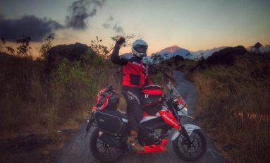 Menuju Timor Leste, Angga dan Adnan Takjub dengan Keindahan Alam Black Lava di Bali