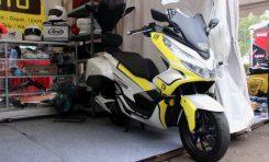 Body Kit AF Motoshop Asal Depok Untuk NMax dan PCX Mendunia Hingga Rusia