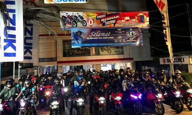 Suzuki Saturday Night Ride Banjarmasin 2019 Bikin Kangen Bikers