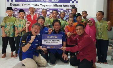 President Yamaha Indonesia Donasikan Hadiah Balap Ketahanan untuk Anak Yatim Piatu