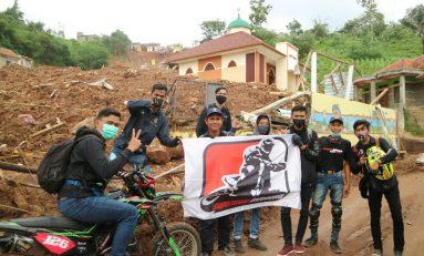 SMI Jakarta Salurkan Bantuan Untuk Korban Longsor Sumedang