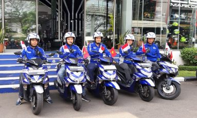 5 Bikers Yamaha Touring ke Lima Negara